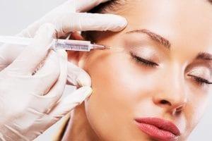 Procedimento cirurgico de Botox